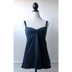 Abercrombie & Fitch Navy Top w/Twist Front